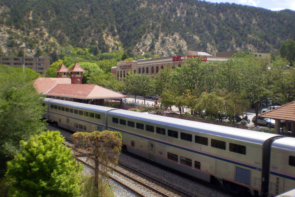 Il West con i treni Amtrak da Denver a Salt Lake City.